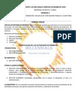 Finanzas 3, Decimo Semestre, Primer Examen Parcial