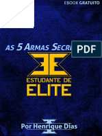 As 5 armas secretas do estudante de elite