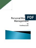 DIY Personal Money Management 1