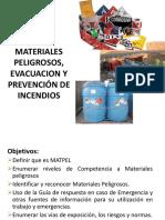 Diapositivas Sesión 1 - Manejo de Materiales Peligrosos