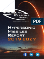 Hypersonic Missiles Report 2019-2027