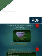 UNIDAD II.FUNCIONES VARIAS VARIABLES.pptx