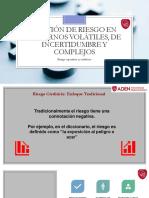 Gestion de Riesgo en Entornos VUCA - ADEN - 2019[1]