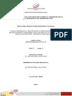 Informe Final de Proyecto de Responsabilidad Social IV