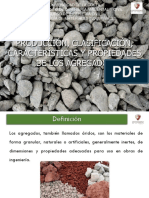 CLASIFICACION DE AGREGADOS