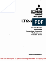 Mitsubishi LT2-2230 Instruction Manual