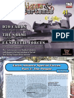 Babylon 5 Rpg 2nd Edition Signs Portents Earth Force Special Forces by m Flegal
