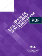 Guide Etudiant International 2019 2020 16-07-2019 Sans Traits de Coupe