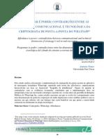 2019_Santos y Faure_Programa é Poder
