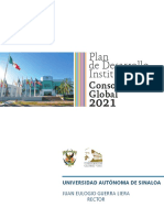 Plan de Desarrollo Institucional Consolidacion Global 2021