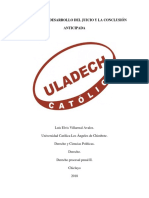 3la Audiencia Desarrollo Del Juicio y La Conclusion Anticipada Docx (1)