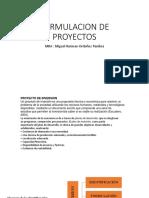 Formulacion de Proyectos Uap-2019