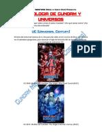 Cronologia de Gundam y Universos