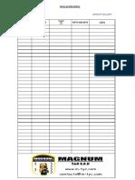 Nivelación Simple - Formato (Imprimir)