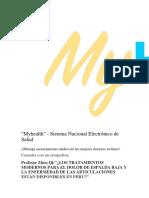 ¿LOS TRATAMIENTOS MODERNOS PARA EL DOLOR ARTICULACIONES..docx