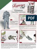 QT German Field Grey Uniforms