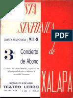 NOTA OTTO MAYER-SERRA Orquesta Sinfónica - temporada 1948