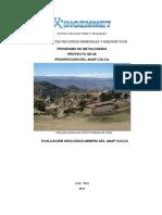 Estudio.evaluación Geológica Minera ANAP Colca