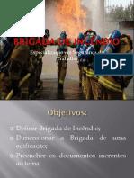 DIMENSIONAMENTO DE BRIGADA