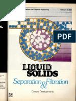 Liquid Solids Separation