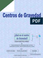 Centros de gravedad