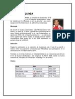 Biografía de 10 Jugadores de Futbol Guatemalteco