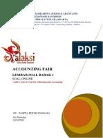 ACCOUNTING FAIR - Soal Babak 1 Penyisihan Online