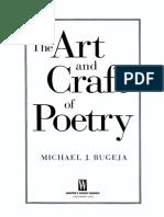 The Art & Craft of Poetry - Michael J Bugeja.pdf