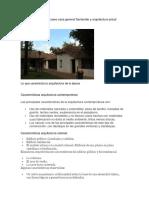 Paralelo Arquitectura Museo Casa General Santander y Arquitectura Actual
