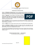Waiver SSG