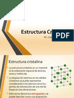 3. Estructura cristalina