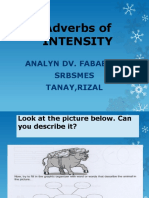 adverbs of intensity