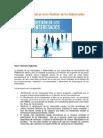 10.Procesos y Tecnicas en La Gestion de Los Interesados