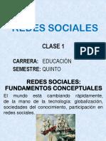 Clase 1 Redes Sociales
