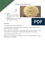 Mayonesa Vegana de Papa y Ají