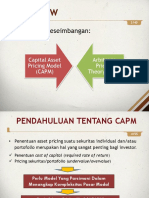 [Materi] 9. Capital Asset Pricing Model - Arbitrage Pricing Theory