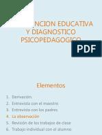 Atención Educativa y Diagnóstico Psicopedagogico