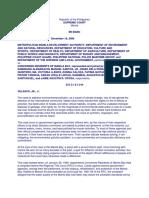 MMDA, et al. v. Concerned Residents of Manila Bay, et al., G.R. Nos. 171947-48, February 15, 2011 . Full Text