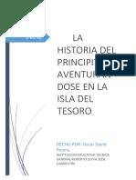 La Historia Del Principito Aventurandose en La Isla Del Tesoro