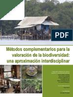 métodos complementarios para la valoración de la biodiversidad