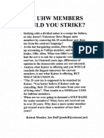 Leaflets Opposing SEIU-UHW President Dave Regan's Partnership Tax