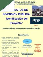 3. Identificacion Del Proyecto Invierte