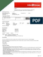 Lion Air ETicket (HPPEAE) - Rustam