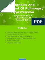 Jurding hipertensi pulmonal