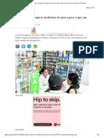 50% Prefiere Comprar Medicinas de Marca Pese a Que Son Más Caras _ Economía _ Gestión