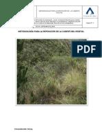 Metodologia Reposicion de Cobertura Vegetal Ori
