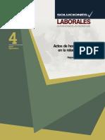 Actos de Hostigamiento en la Relacion Laboral.pdf