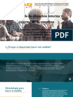 Análisis de La Situación Interna y Externa de La Empresa 4