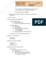 Magnetic Particle Testing Level 2 Course Outline