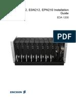 EDN612 ESN212 EPN210 Installation Guide